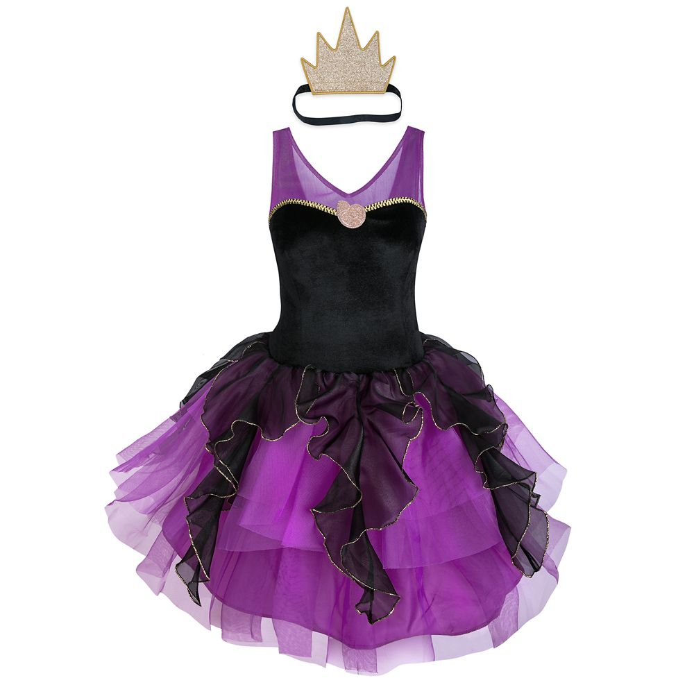Ursula Costume with Tutu for Adults – The Little Mermaid