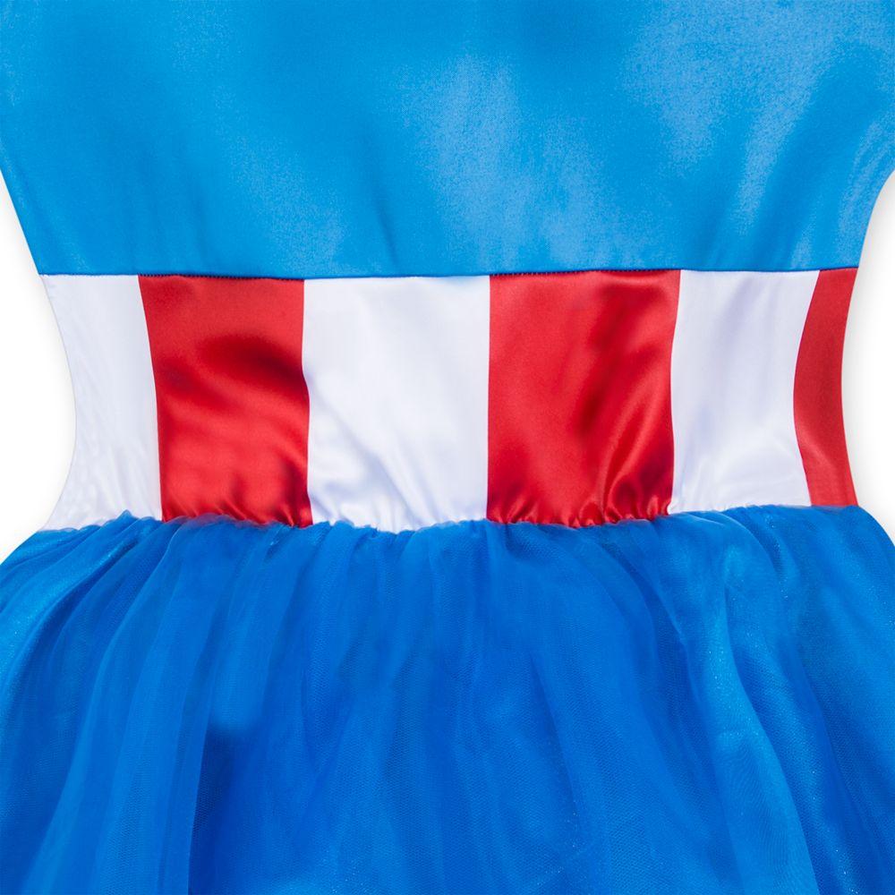 Captain America Tutu Dress Costume for Adults