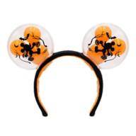 Mickey Mouse Halloween Balloon Light-Up Ear Headband for Adults