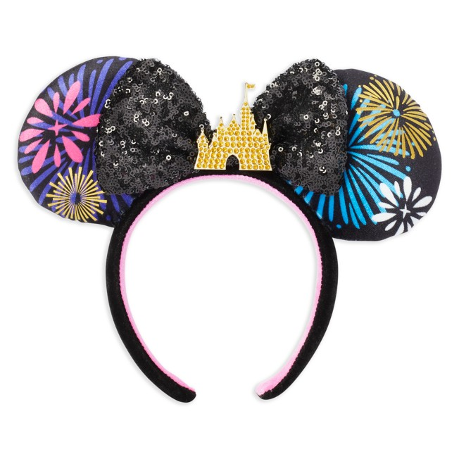 Minnie Mouse: The Main Attraction Ear Headband for Adults – Nighttime Fireworks & Castle Finale – Limited Release