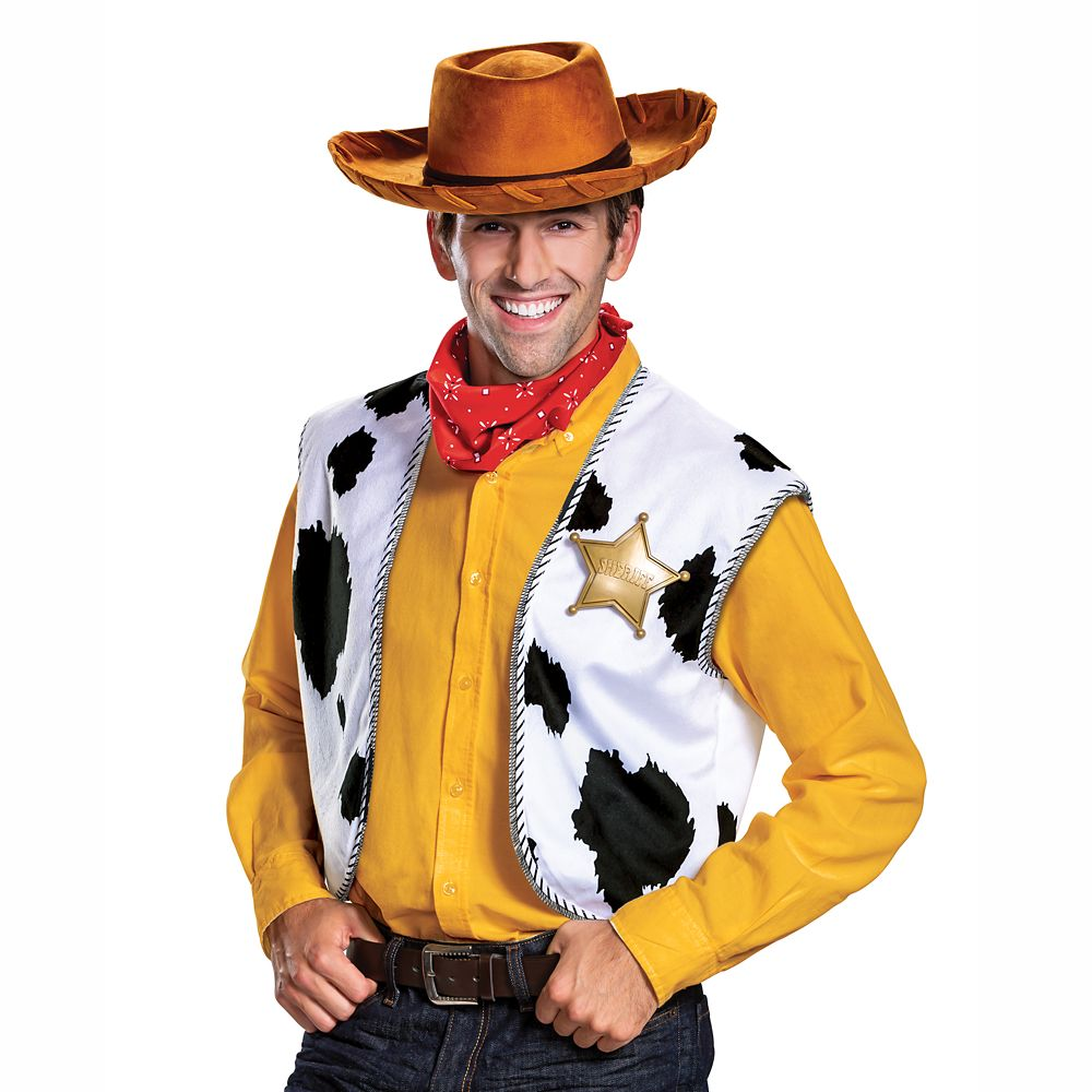 Woody Deluxe Costume Accessories Kit for Adults by Disguise