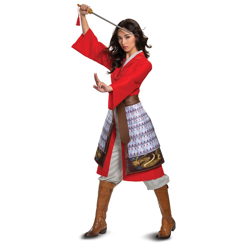 Mulan Deluxe Costume for Adults by Disguise – Live Action Film