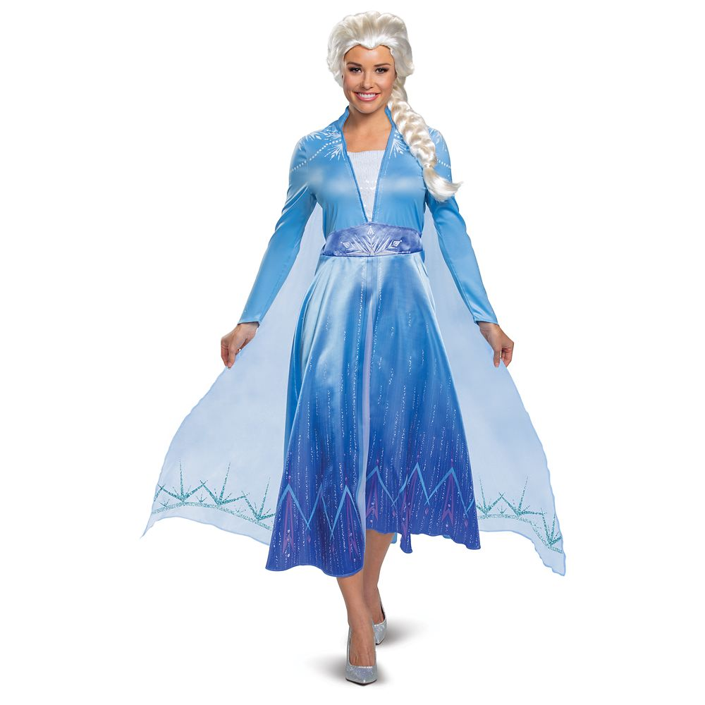 Elsa Deluxe Costume for Adults by Disguise – Frozen 2