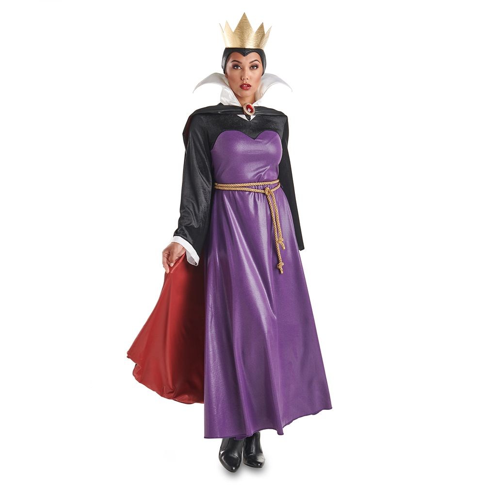 Evil Queen Deluxe Costume for Adults by Disguise – Snow White and the Seven Dwarfs