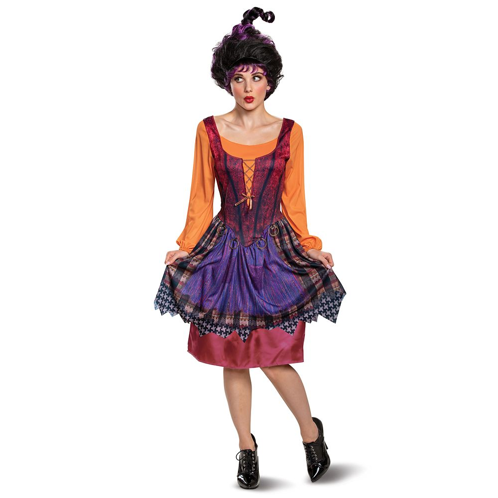 디즈니 할로윈 성인 코스튬 Disney Mary Sanderson Costume for Adults by Disguise – Hocus Pocus