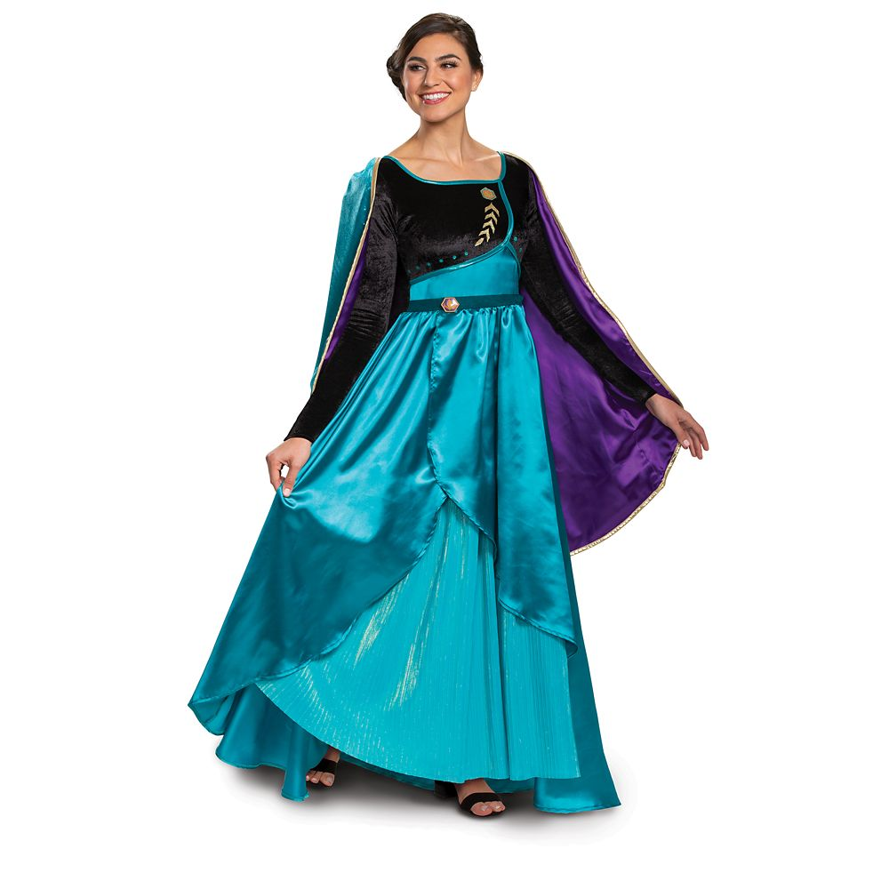 Anna Prestige Costume for Adults by Disguise – Frozen 2