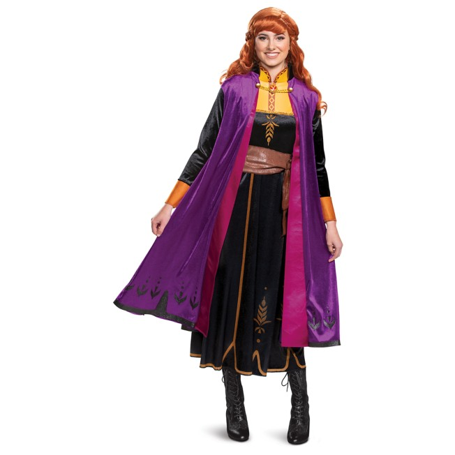 Anna Deluxe Costume for Adults by Disguise – Frozen 2