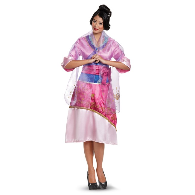 Mulan Deluxe Costume for Adults by Disguise