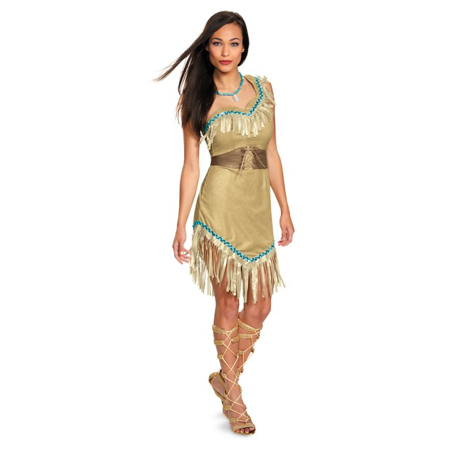 Pocahontas Prestige Costume for Adults by Disguise