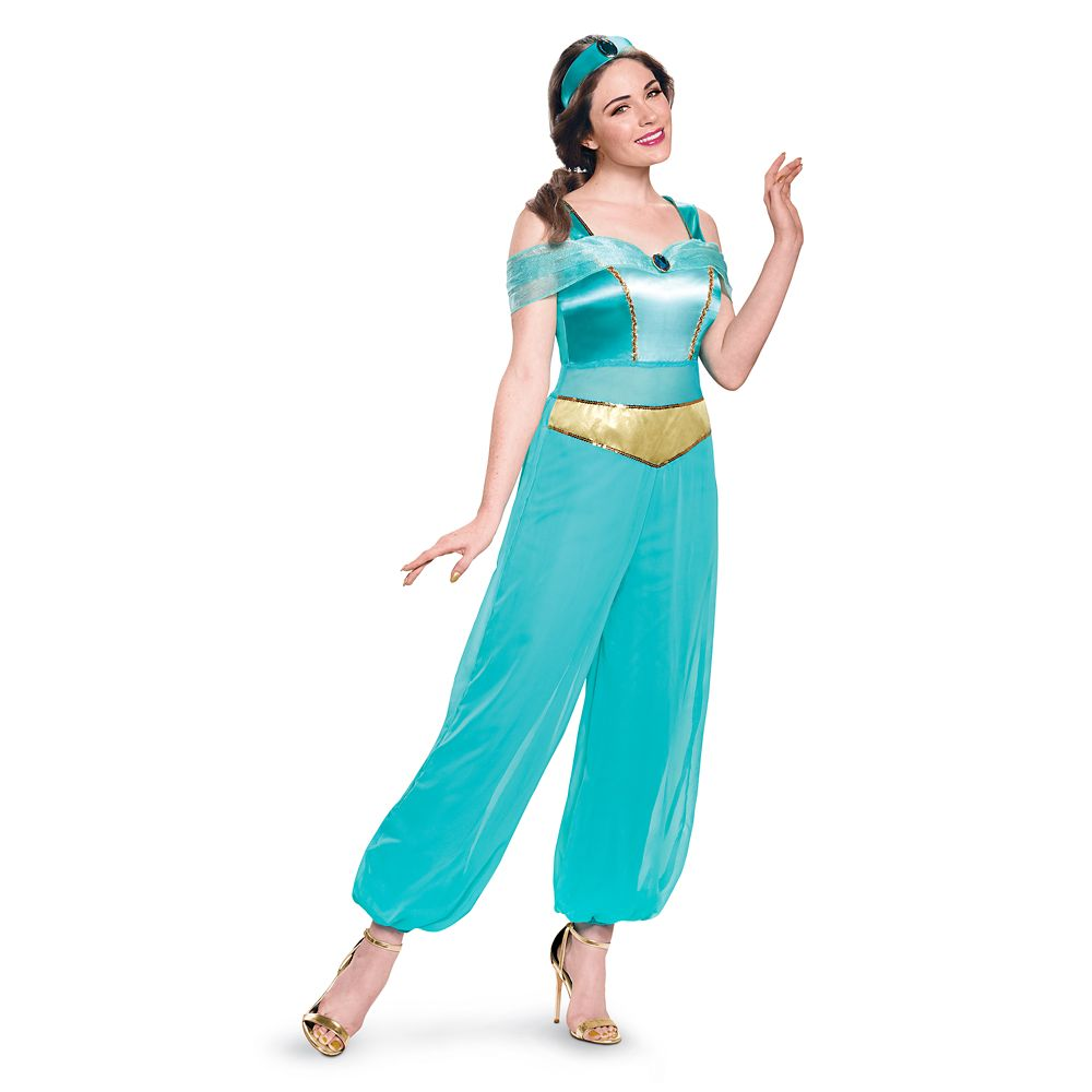 Jasmine Deluxe Costume for Adults by Disguise – Aladdin