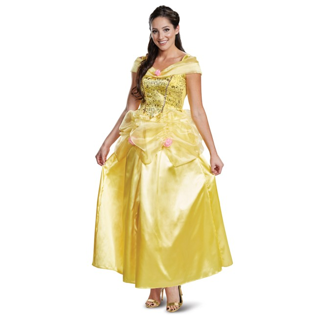 Belle Deluxe Costume for Adults by Disguise – Beauty and the Beast