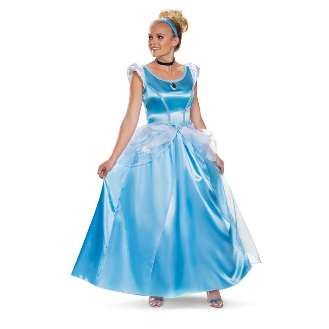 Cinderella Deluxe Costume for Adults by Disguise