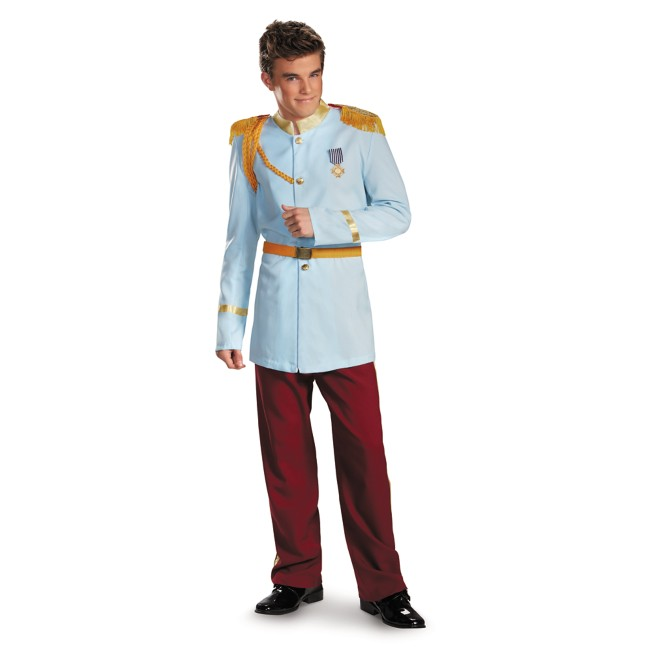 Prince Charming Prestige Costume for Adults by Disguise – Cinderella