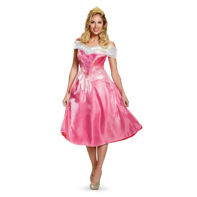 Aurora Deluxe Costume for Adults by Disguise – Sleeping Beauty