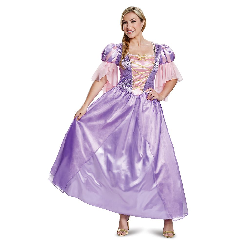 Rapunzel Deluxe Costume for Adults by Disguise – Tangled