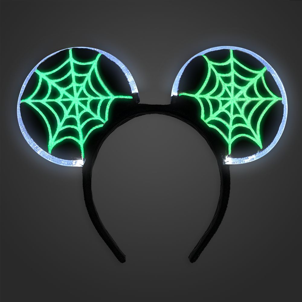 Mickey Mouse Light-Up Skeleton Costume Accessory Set for Adults