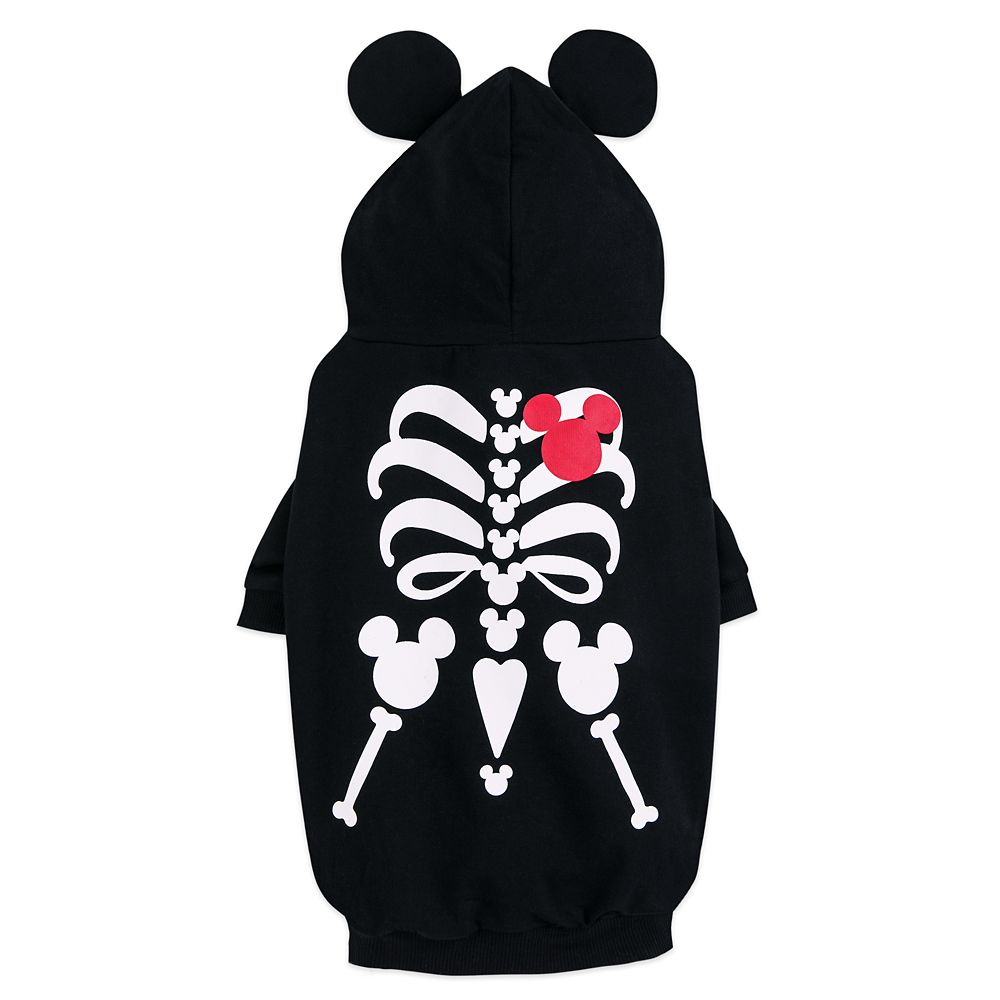 Mickey Mouse Skeleton Costume for Dogs