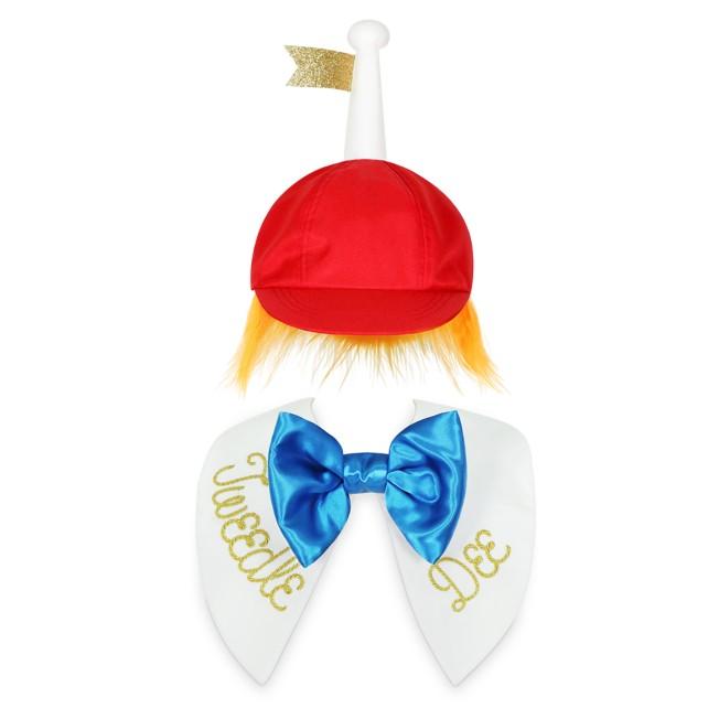 Tweedledee or Tweedledum Costume Accessory Set for Adults – Alice in Wonderland