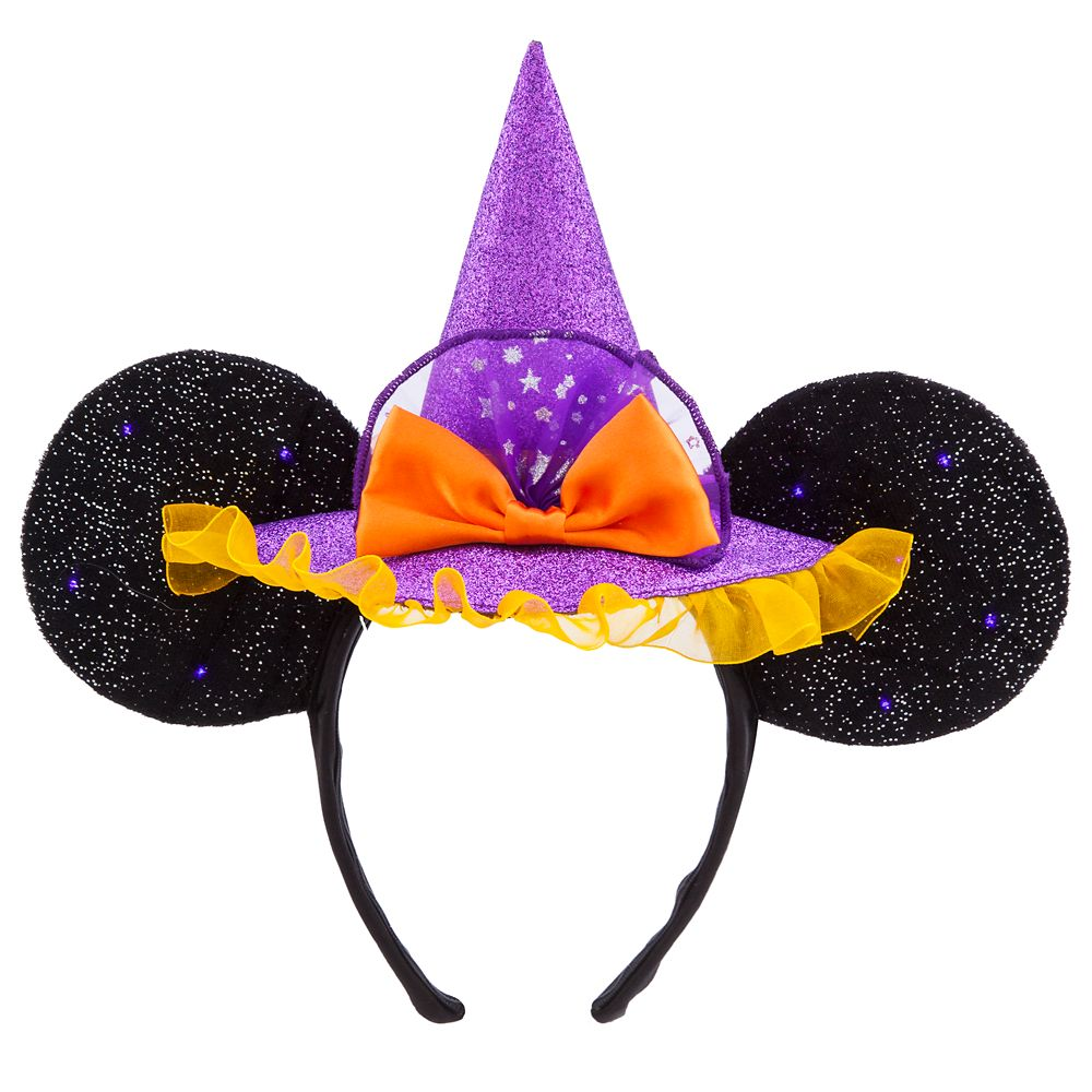 Minnie Mouse Witch Ear Headband for Adults