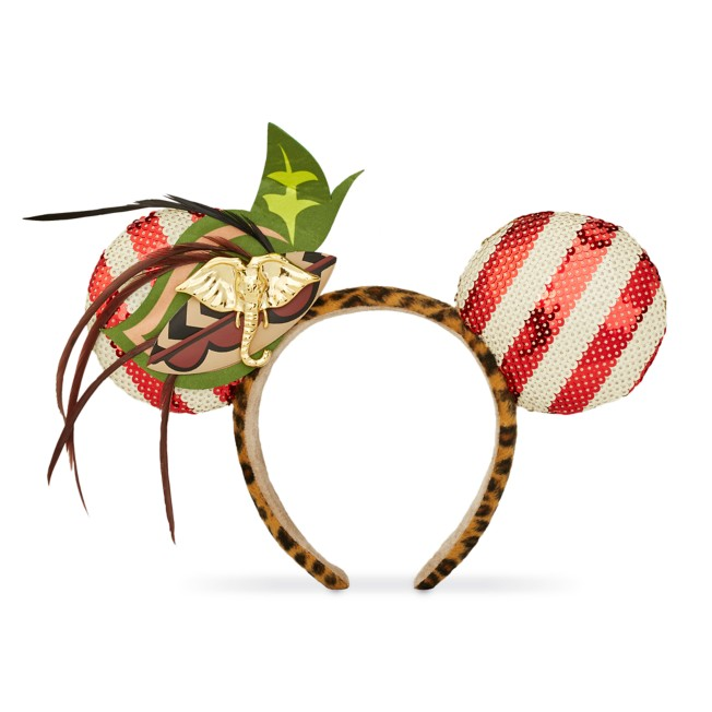 Minnie Mouse: The Main Attraction Ear Headband for Adults – Jungle Cruise – Limited Release