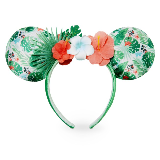 Mickey and Minnie Mouse Tropical Ear Headband