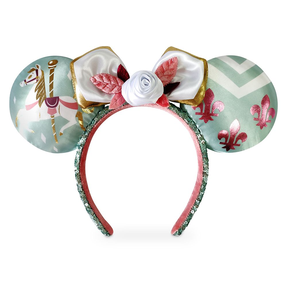 Minnie Mouse: The Main Attraction Ear Headband for Adults – King Arthur Carrousel – Limited Release