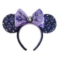 The Haunted Mansion Minnie Mouse Ear Headband for Adults by Her Universe