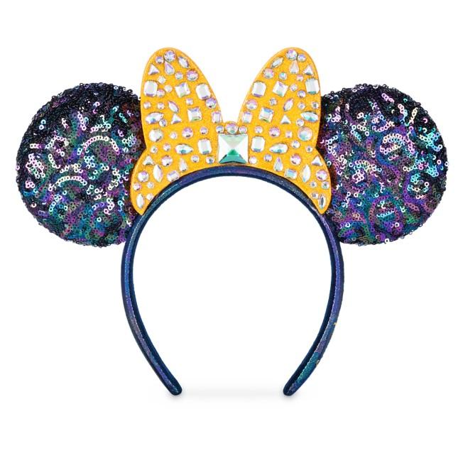 Minnie Mouse Jeweled Bow Ear Headband – Walt Disney World 50th Anniversary