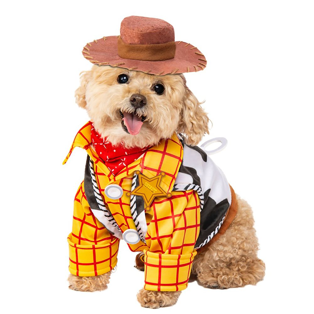 Woody Pet Costume by Rubies – Toy Story