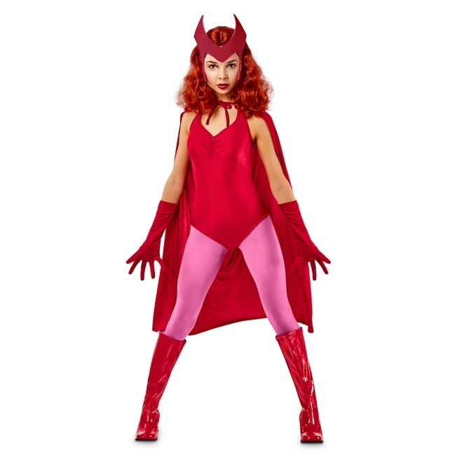 Scarlet Witch Costume for Adults by Rubie's – WandaVision