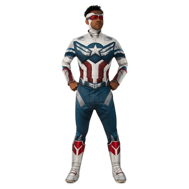 Captain America Deluxe Costume for Adults by Rubie's – The Falcon and the Winter Soldier