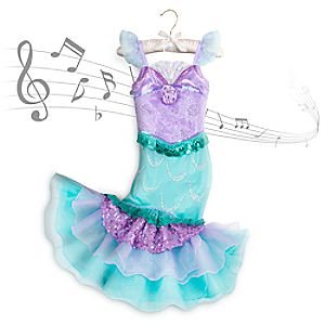 Ariel Costume with Sound for Kids