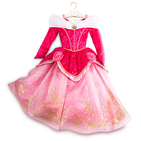 Aurora Deluxe Costume for Kids - Sleeping Beauty