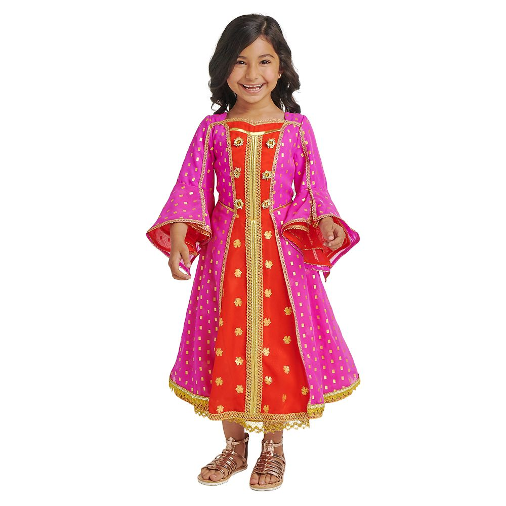 Jasmine Desert Moon Deluxe Costume for Kids – Aladdin Live Action Film