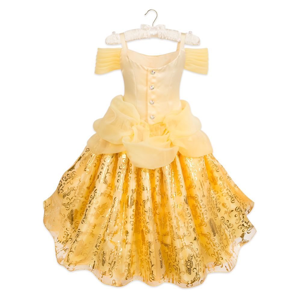 Belle Deluxe Costume for Kids – Beauty and the Beast