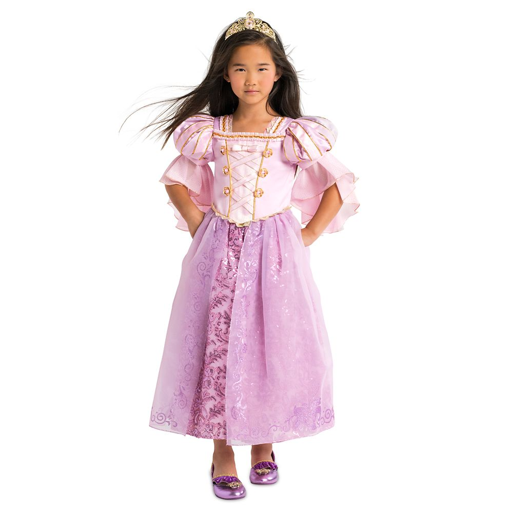 Rapunzel Deluxe Costume For Kids