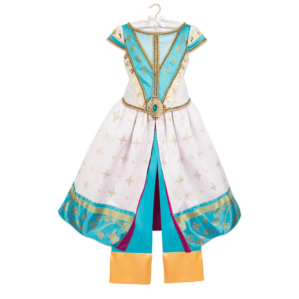 Jasmine Dreams Come True Deluxe Costume for Kids – Aladdin – Live Action Film