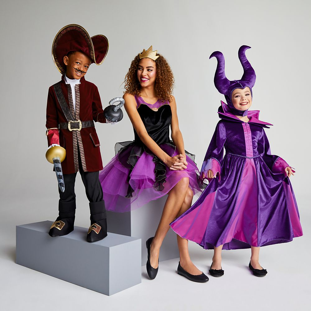 Maleficent Costume For Kids Sleeping Beauty