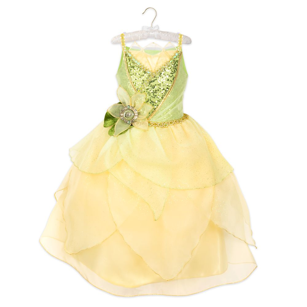 Tiana 10th Anniversary Costume for Kids  The Princess and the Frog Official shopDisney