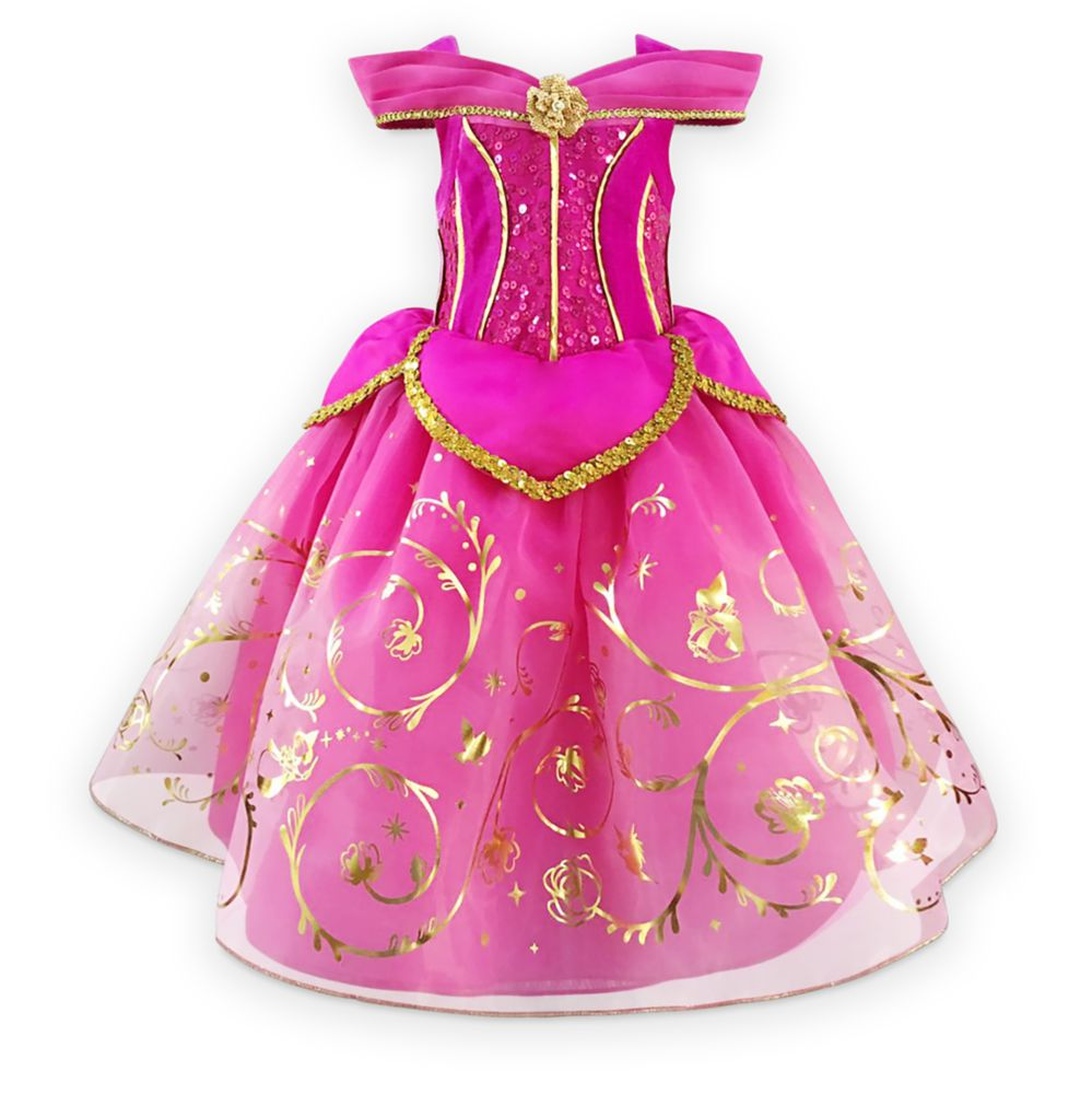 Aurora Deluxe Costume for Kids – Sleeping Beauty