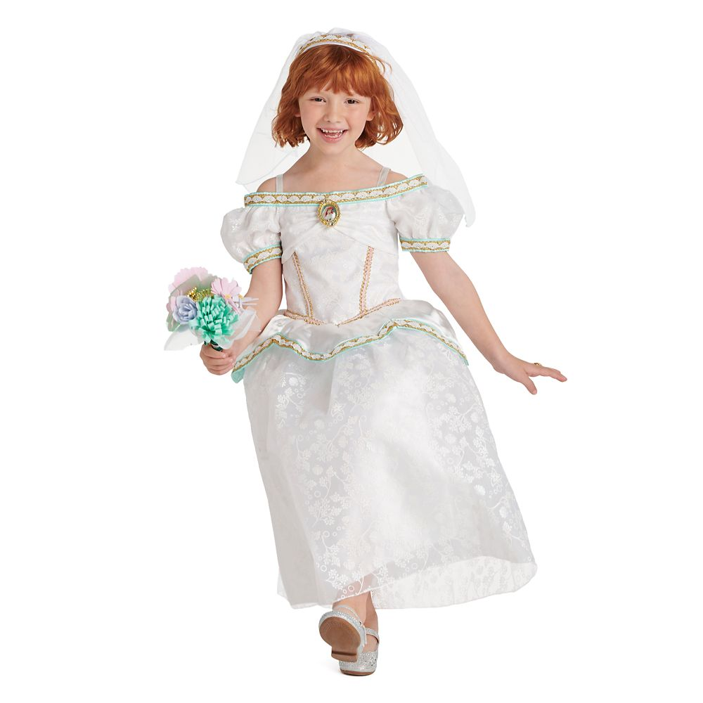 Disney Ariel Wedding Dress and Accessory Set for Kids ? The Little Mermaid