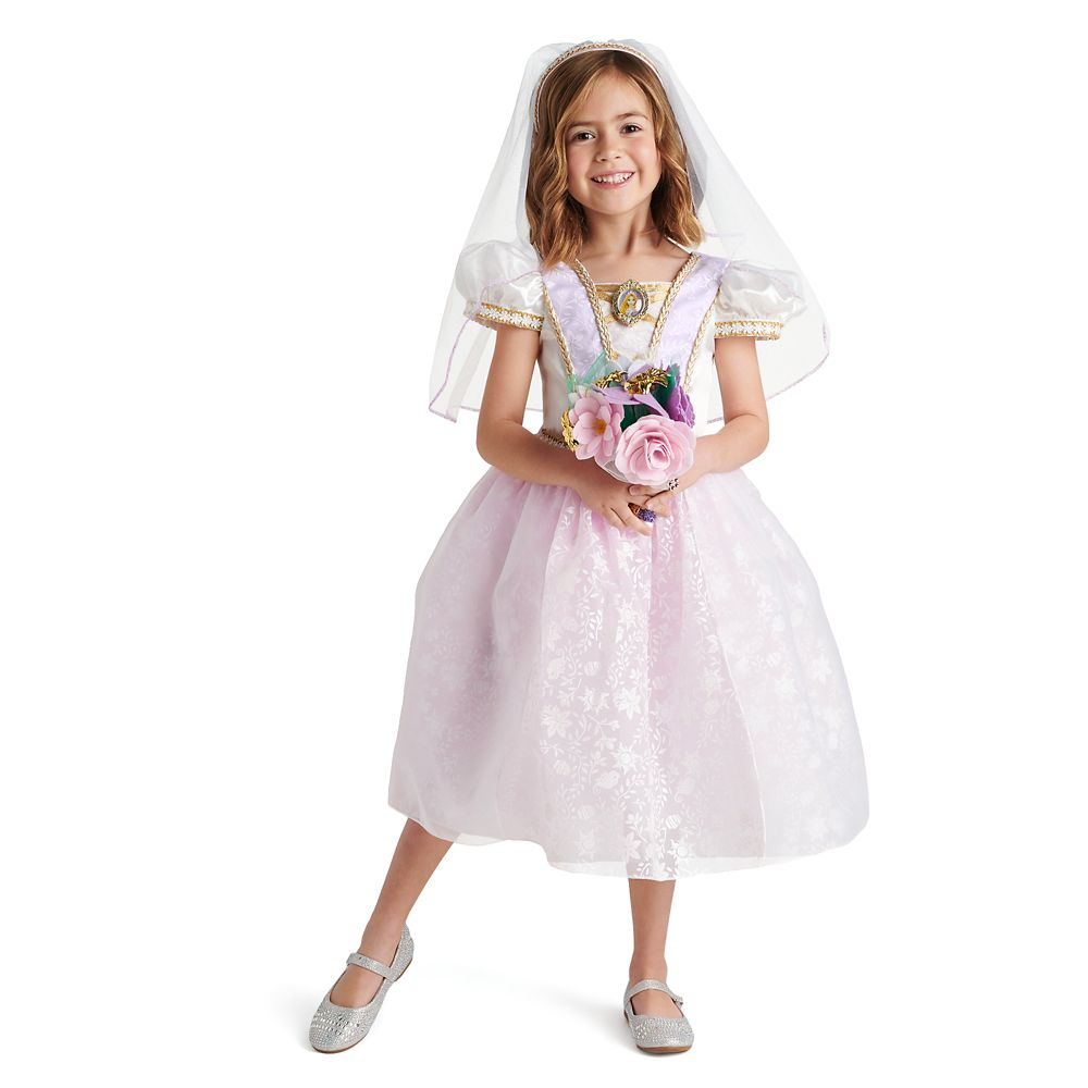 Disney Rapunzel Wedding Dress and Accessory Set for Kids