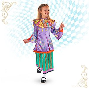 Alice Through the Looking Glass Deluxe Costume for Kids