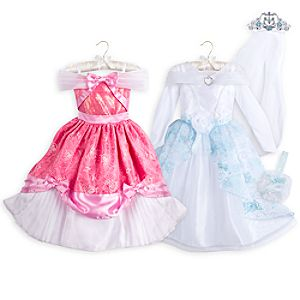 Cinderella Costume Set for Kids - 4-Piece