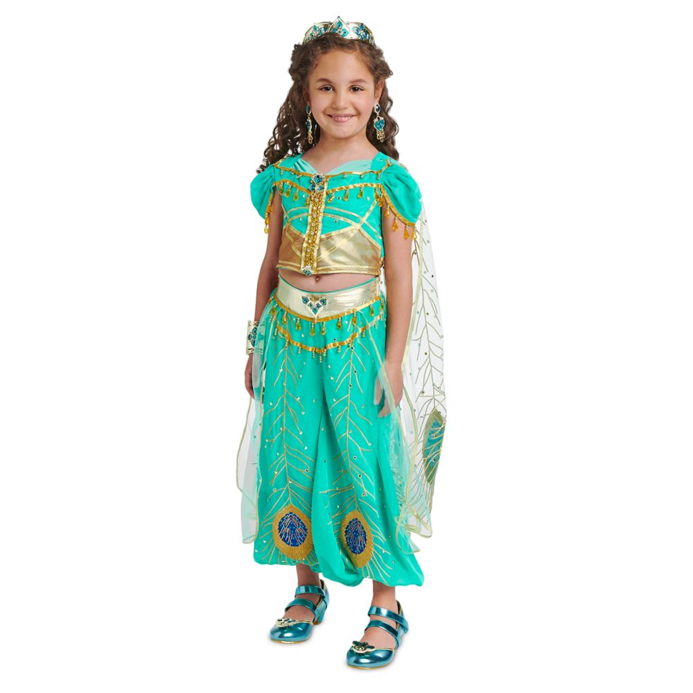 Jasmine Costume for Kids – Aladdin – Live Action Film – Limited Edition