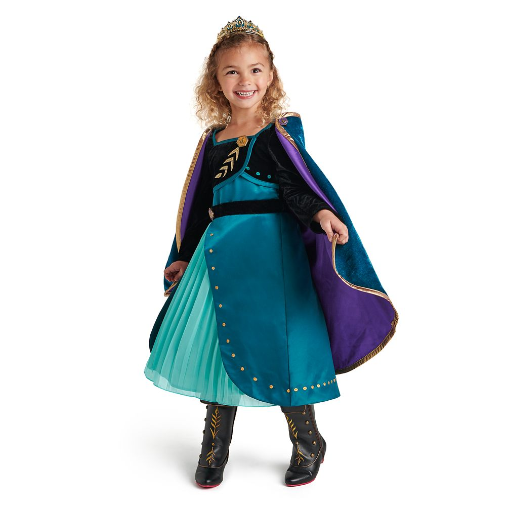 Queen Anna Deluxe Costume for Kids – Frozen 2