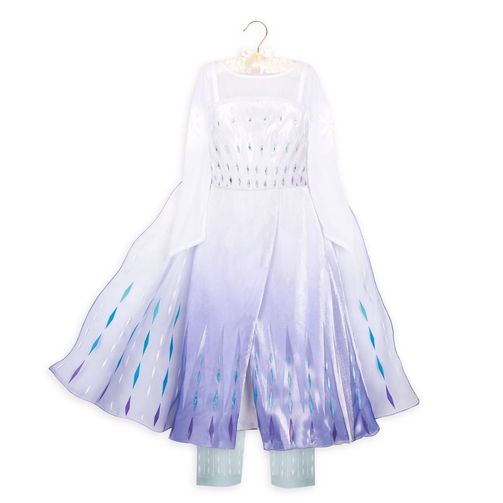Snow Queen Elsa Deluxe Costume for Kids – Frozen 2