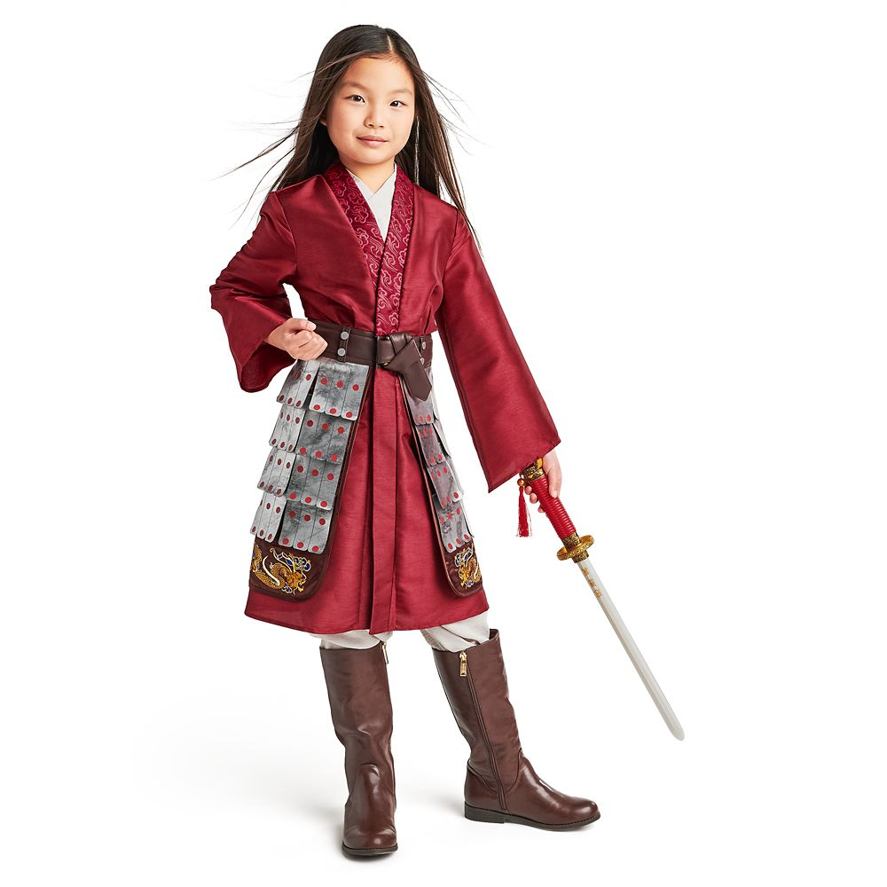 Mulan Deluxe Costume For Kids Live Action Film Shopdisney