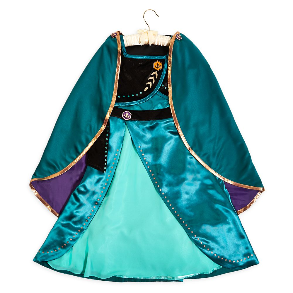 Anna Coronation Costume for Kids – Frozen 2
