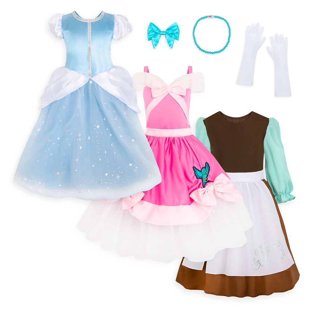 Cinderella ''Live Your Story'' Costume Set for Kids
